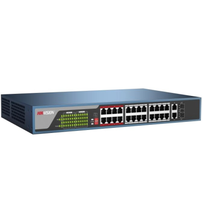Switch mạng 24 cổng PoE 100M DS-3E0326P-E(B)
